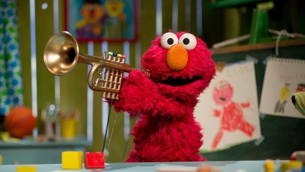 Elmo verabschiedet sich mit einem Wimmelbild.   Rechte: NDR