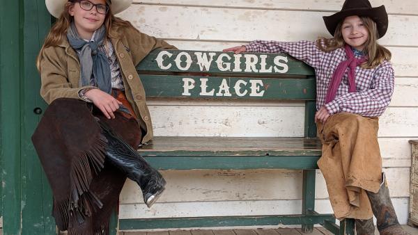 Echte Cowgirls im Wilden Westen | Rechte: NDR