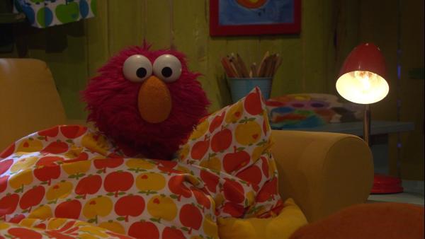Elmo versucht mutig zu sein. | Rechte: NDR