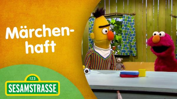 Folge 2882. Märchenhaft - Thumnail mit Bert und Elmo | Rechte: NDR