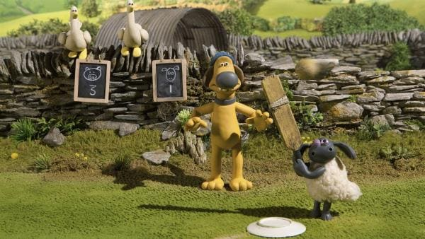 Kann der kleine Timmy für seine Mannschaft einen Punkt holen? | Rechte: WDR/Aardman Animation Ltd./BBC