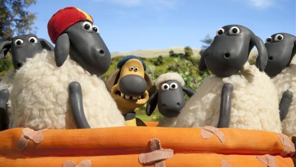 Das Badevergnügen der Freunde hat so seine Tücken. | Rechte: WDR/Aardman Animation Ltd./BBC