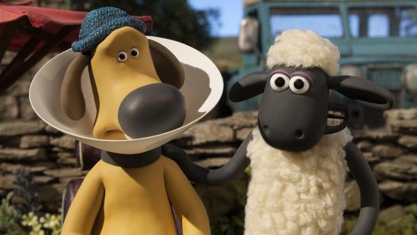 So leicht lässt sich Shaun nicht von Bitzer reinlegen. | Rechte: WDR/Aardman Animations Ltd.