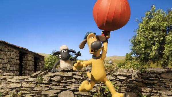 Bitzer hebt ab. | Rechte: WDR/Aardman Animations Ltd.