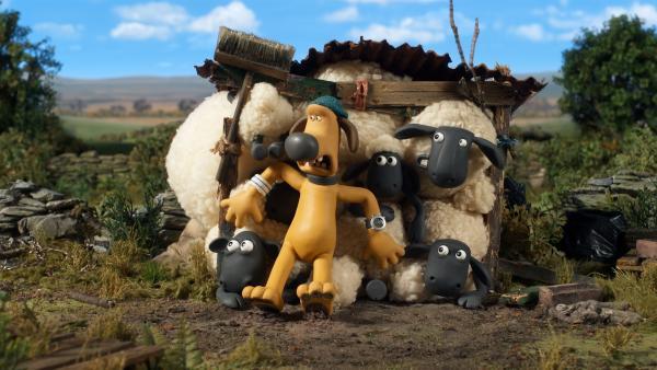 Der Gast ist König? Das sehen die Schafe anders. | Rechte: WDR/BBC/Animation Ltd.