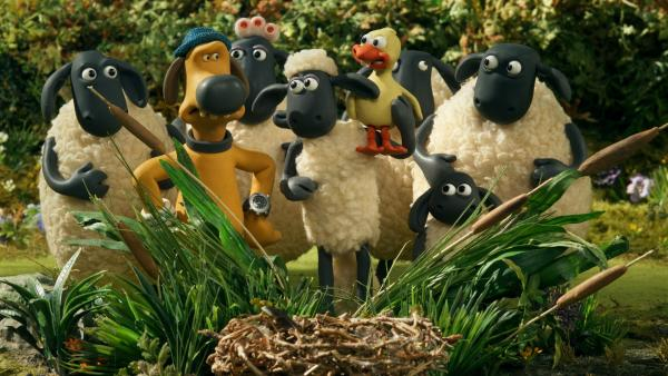 Das Nest ist leer, die Gänsefamilie verschwunden. Wer kümmert sich jetzt um das Gänseküken? | Rechte: WDR/BBC/Animation Ltd.