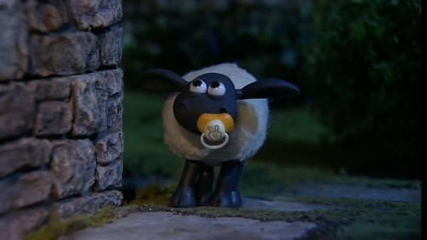 Auch kleine Schafe sollten nachts nicht alleine unterwegs sein. | Rechte: WDR/Aardman Animation Ltd./BBC