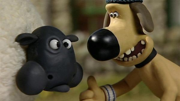 """Hilft """"die Luft anhalten"""" gegen Schluckauf? Ein Versuch kostet doch nichts.   Rechte: WDR/Aardman Animation Ltd./BBC"""