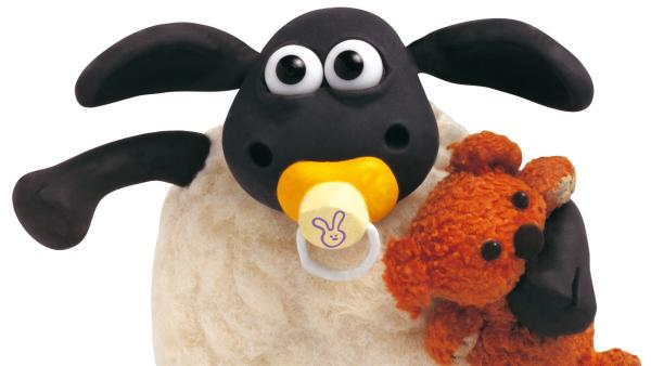 Timmy schreit sich die Seele aus dem Leib! Das Baby-Schaf hat seine heiß geliebte Schlafpuppe verloren und ist überhaupt nicht mehr zu trösten.   Rechte: WDR/Aardman Animations Ltd.