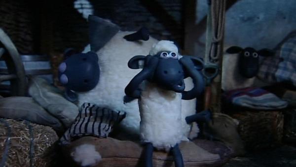 Shaun bekommt kein Auge zu. Was hilft gegen Shirleys Schnarchen? | Rechte: WDR/Aardman Animation Ltd./BBC