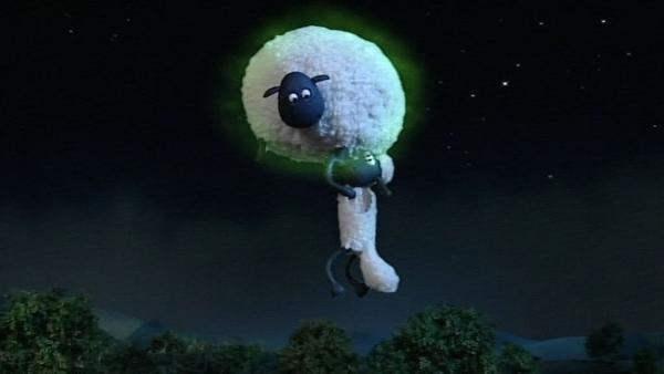 Können Schafe fliegen? In dieser Nacht ist alles möglich. Shirley bleib hier! | Rechte: WDR/Aardman Animation Ltd./BBC