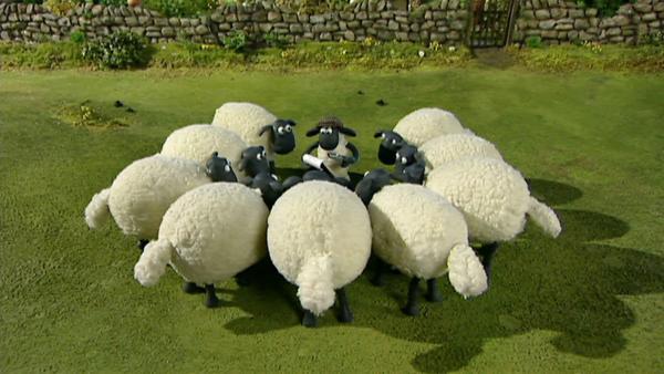 Der Farmer ist krank, welche Aufgaben können von den Schafen erledigt werden?   Rechte: WDR/Aardman Animation Ltd./BBC