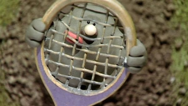 Der kleiner Maulwurf ist ganz schön frech und bringt die Schafe zum Staunen und Stöhnen. | Rechte: WDR/Aardman Animation Ltd./BBC