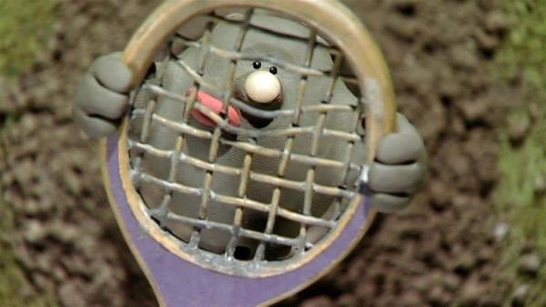 Der kleiner Maulwurf ist ganz schön frech und bringt die Schafe zum Staunen und Stöhnen.   Rechte: WDR/Aardman Animation Ltd./BBC