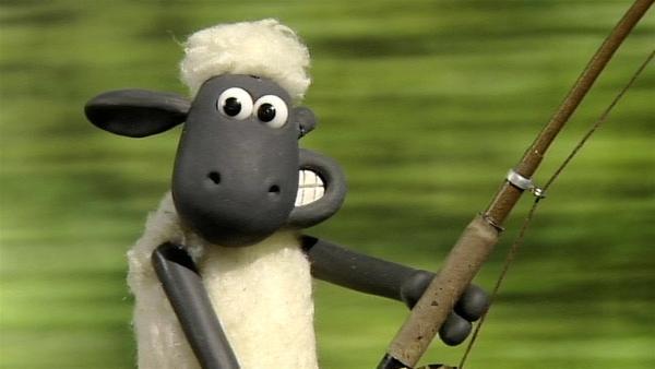 Shaun kann den kleinen Maulwurf nicht fangen, der das Leben auf der Farm durcheinander bringt.   Rechte: WDR/Aardman Animation Ltd./BBC