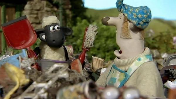 Wenn jeder mithilft, geht Aufräumen schnell und ist nur halb so schlimm. | Rechte: WDR/Aardman Animation Ltd./BBC