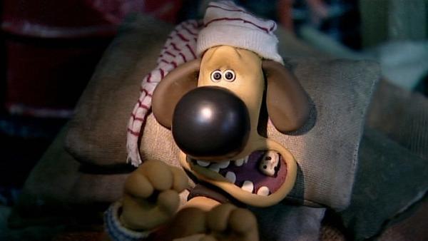Das sieht gar nicht gut aus. Der Zahn hat große Löcher und muss sicher raus! | Rechte: WDR/Aardman Animation Ltd./BBC