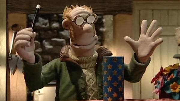 Der Farmer versucht sich als Zauberer. Hoffentlich geht das gut! | Rechte: WDR/Aardman Animation Ltd./BBC