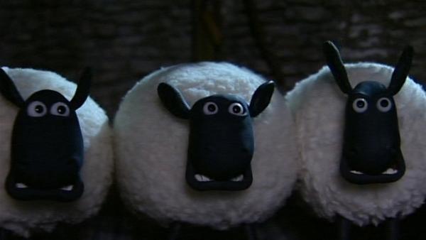 Der Schrecken ist groß, die Nacht ist zum Gruseln!   Rechte: WDR/Aardman Animation Ltd./BBC