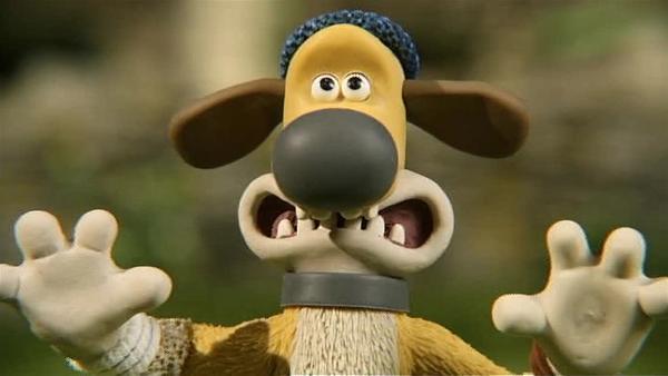 Bitzer ist geschockt. Warum ist Timmy so groß geworden? Was ist mit ihm passiert? | Rechte: WDR/Aardman Animation Ltd./BBC