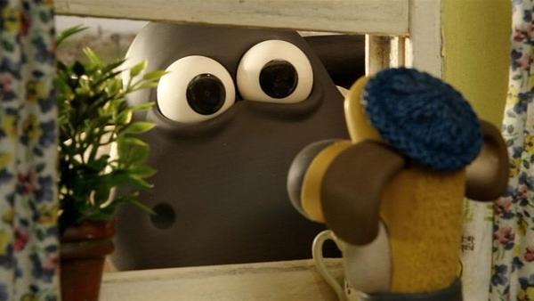 Das kann doch nicht wahr sein? Gehört dieser Riesenkopf wirklich dem kleinen Timmy?   Rechte: WDR/Aardman Animation Ltd./BBC