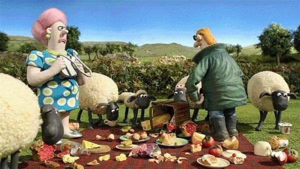 Alles durcheinander, das schöne Picknick ist verdorben. Die Enttäuschung ist groß. | Rechte: WDR/Aardman Animation Ltd./BBC