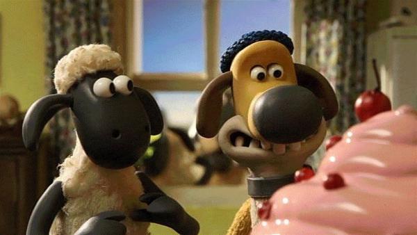 Hoffentlich schmeckt die Torte, damit das Date noch ein Erfolg wird.   Rechte: WDR/Aardman Animation Ltd./BBC