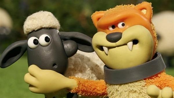Pidsley ist ein großer Mäusefänger. Wer hat die kleine Maus gesehen? | Rechte: WDR/Aardman Animation Ltd./BBC