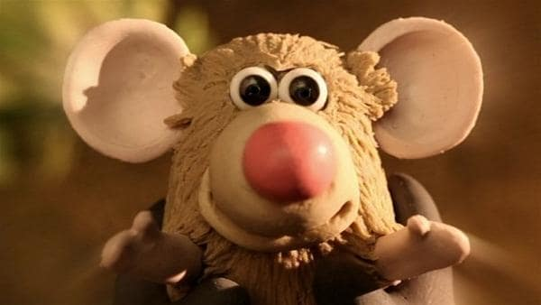Wer hat Angst vor einer kleinen Maus? Der große Farmer! | Rechte: WDR/Aardman Animation Ltd./BBC