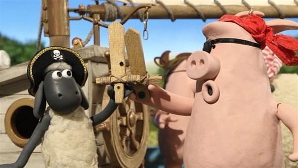 Gefecht an Bord! Wer hat hier das Kommando? | Rechte: WDR/Aardman Animation Ltd./BBC
