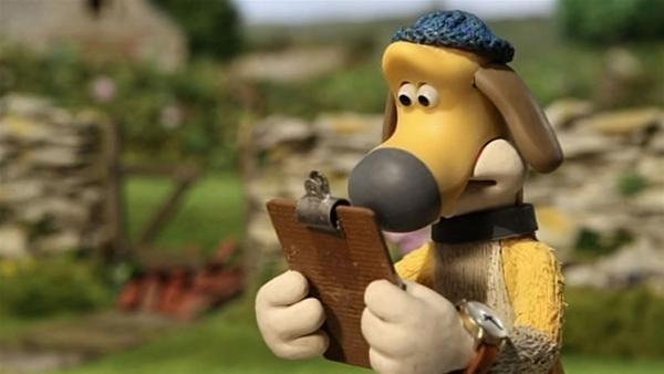 Die Reparaturliste ist lang. Bitzer muss die Schafe auf Trapp bringen. | Rechte: WDR/Aardman Animation Ltd./BBC