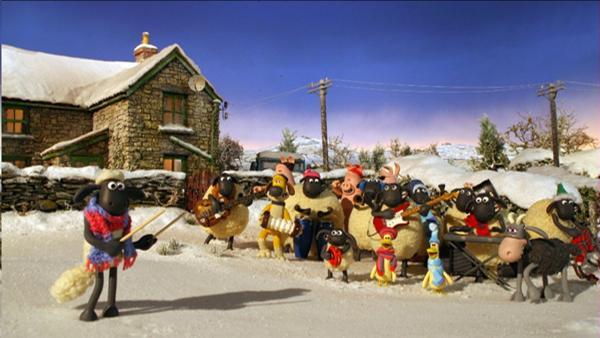 Shaun beschließt, dem Bauern ein besonderes Weihnachtsgeschenk zu machen, damit der Bauer einen unvergesslichen Weihnachtsmorgen hat. | Rechte: WDR/Aardman Animations Ltd.