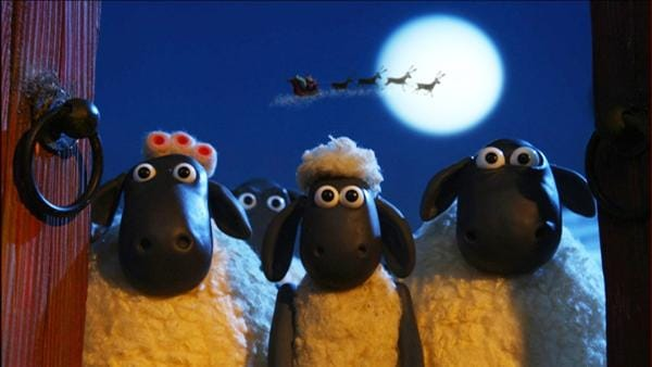 Shaun und die Schafe beschließen, dem Bauern ein besonderes Weihnachtsgeschenk zu machen. | Rechte: WDR/Aardman Animations Ltd.