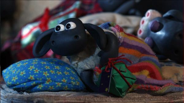 Timmy schaut dem Weihnachtsmann hinterher. | Rechte: WDR/Aardman Animations Ltd.