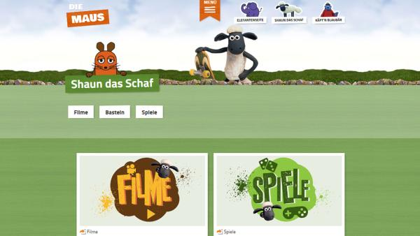 Sendungshomepage Shaun das Schaf | Rechte: KiKA