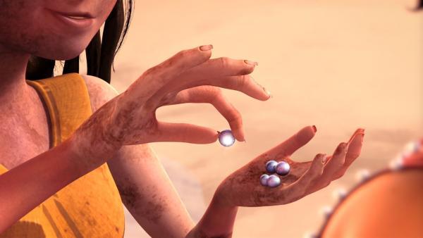 Perlen in der Wüste. | Rechte: rbb/Hahn Film AG/Chocolate Liberation Front Pty Ltd/Toonz Entertainment Pte Ltd