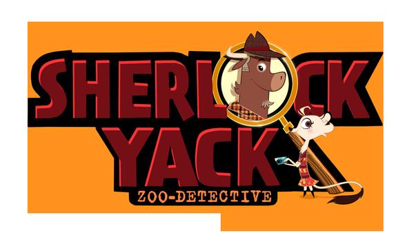 "Logo ""Sherlock Yack - Der Zoodetektiv"" | Rechte: ZDF"