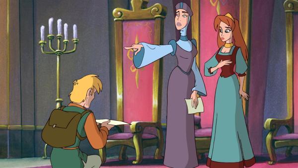 Drei goldene Haare des Teufels muss Kasper beschaffen, wenn die geliebte Prinzessin seine Braut werden soll.   Rechte: NDR/Greenlight Media AG