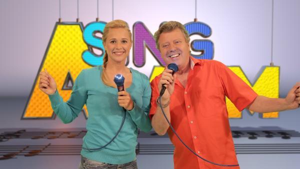 Singa und Kinderliedermacher Volker Rosin | Rechte: ZDF/Rico Rossival