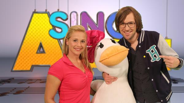 Singa und Kinderliedermacher herrH | Rechte: ZDF/Rico Rossival