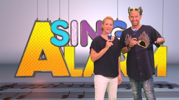 Singa und Tom Lehel | Rechte: ZDF/Rico Rossival
