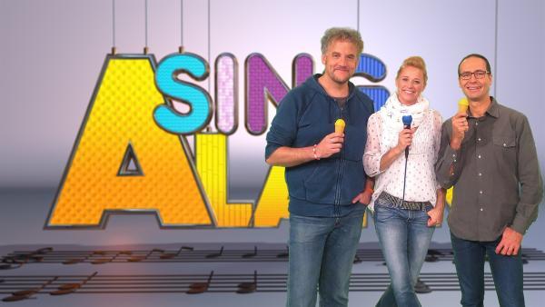 Eddi , Singa und Dan | Rechte: ZDF/Rico Rossival
