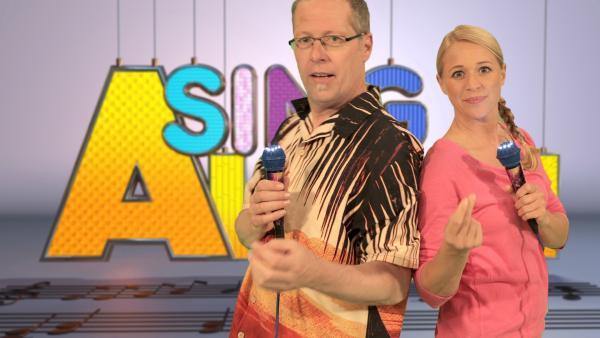 Singa und Kinderliedermacher Matthias Meyer-Göllner | Rechte: ZDF/Rico Rossival