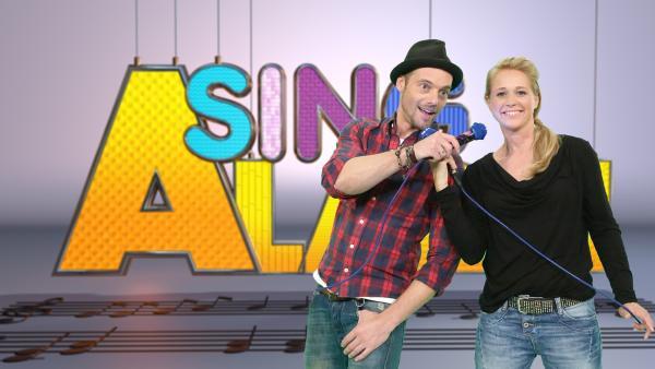 Alex Huth und Singa | Rechte: ZDF und Rico Rossival