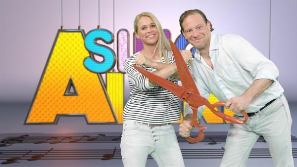 Singa und Florian Voigt | Rechte: ZDF/Rico Rossival