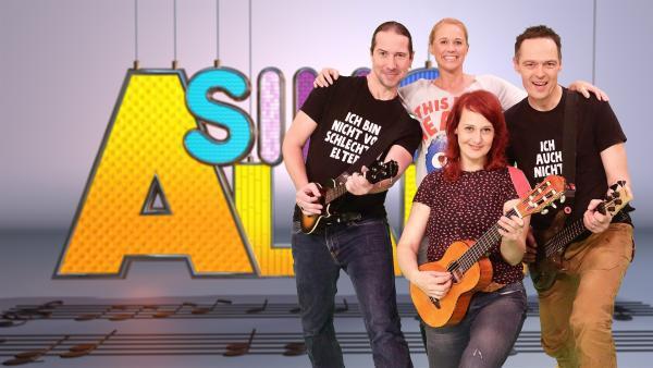 Moderatorin Singa und die Studiogäste von 3Berlin | Rechte: ZDF/Rico Rossival