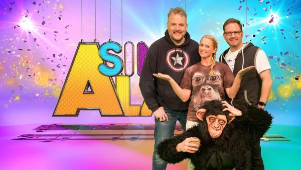 Singa und die Studiogäste Dän und Nils von den Wise Guys | Rechte: ZDF/Firma MES GmbH