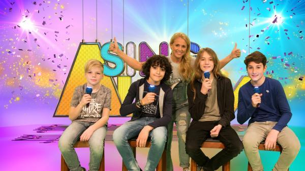 Singa mit den Powerboys | Rechte: ZDF/Firma MES GmbH