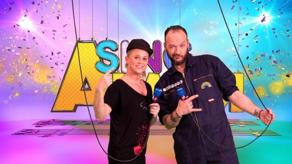 Singa mit Raketen Erna aus Berlin | Rechte: ZDF/MES GmbH