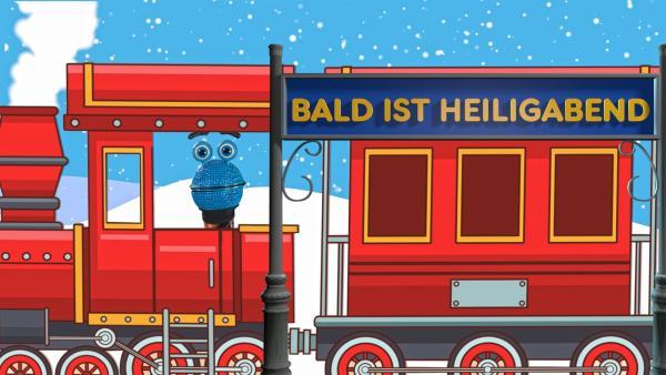 Das SingDing zeigt seine vier Lieblings-Weihnachtshits. | Rechte: ZDF/MES GmbH Wiesbaden